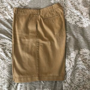 EPRESS men's flat front Khaki Shorts Size 38